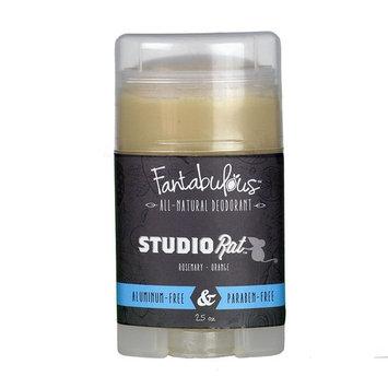 Fantabulous All Natural Deodorant (Captain Dangerous, 1 Stick (2.5oz))