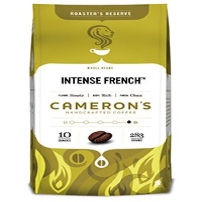 Cameron's Intense French Whole Bean Coffee-10 oz-Whole