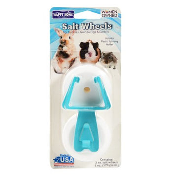 Happy Home Pet Products Happy Home ® Salt Wheels 3 pc Carded Pack