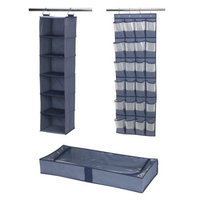 6 Shelf Underbed 24 Otd Set Blue