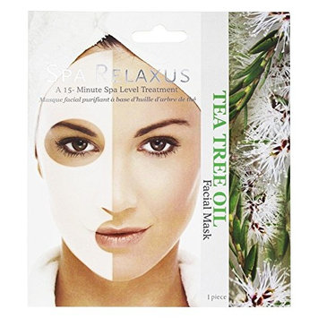 Spa Relaxus Facial Mask. Spa Level Treatment: Tea Tree Oil (2 units included)