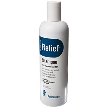 Bayer Relief Shampoo for Pets, 12-Ounce