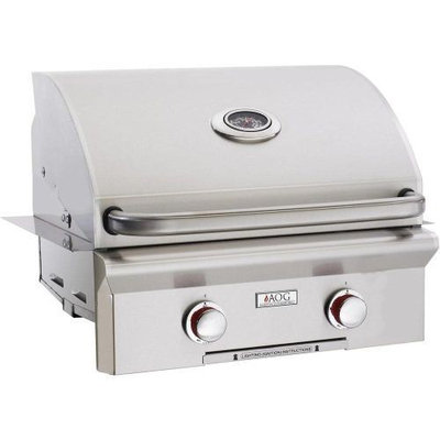 American Outdoor Grills 24 AOG Built-In T Series Grill w/Rotisserie and Rapid Light - NG