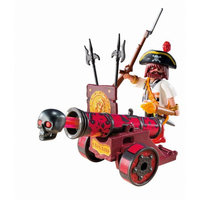 Red Interactive Cannon with Buccaneer 6163