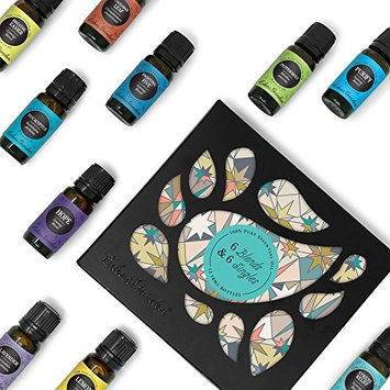 Edens Garden Top 6 Synergy And Top 6 Essential Oils 100% Certified Pure Therapeutic Grade Gc/Ms Tested