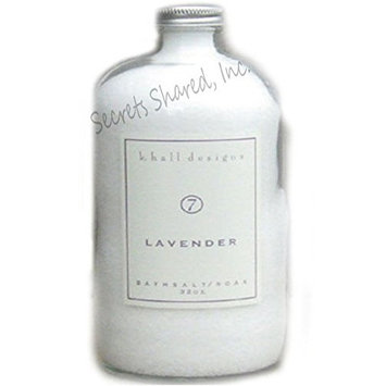 k. hall designs Lavender Bath Soak 32 oz.