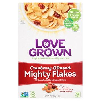 Love Grown Foods, Llc Love Grown, Cereal Mght Flakes Crn Almd, 12 Oz (Pack Of 6)