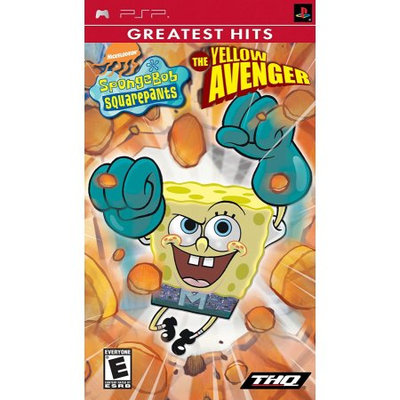 Acco Brands Spongebob Squarepants The Yellow Avenger - Sony PSP