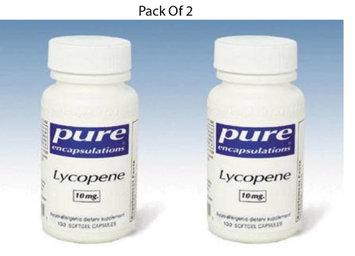 Pure Encapsulations Lycopene 10 mg 100 gels