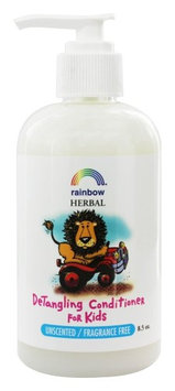Rainbow Research - Kid's Detangling Conditioner Unscented - 8 oz.(pack of 6)