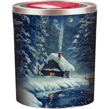 Gourmet Select Winter Cabin Holiday Popcorn Tin, 18 oz