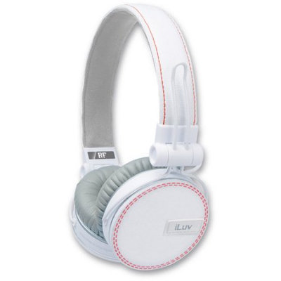 Iluv Ref Headphones For Apple - White