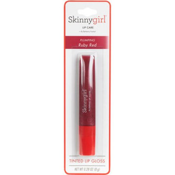 Skinnygirl Face & Body Skinnygirl Face and Body Plumping Lip Gloss, Ruby Red, .28 oz
