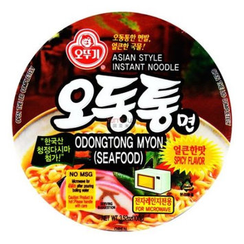 Ottogi Odongtong Myon Instant Noodle Seafood