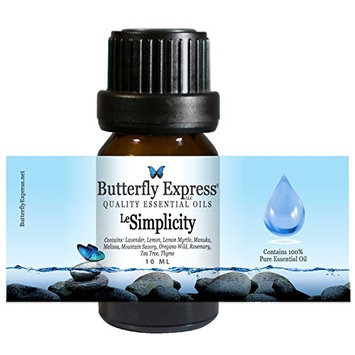 Le Simplicity Essential Oil Blend 10ml - 100% Pure - by Butterfly Express