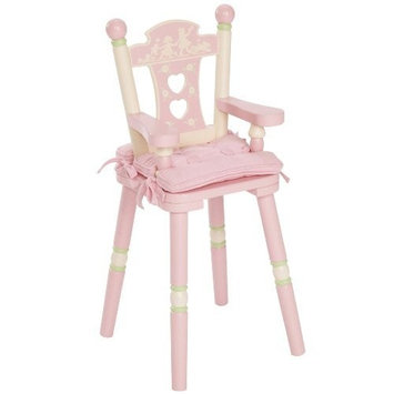 Levels Of Discovery Rock-A-My-Baby Doll'S Chair Pink/Cream