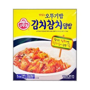 OTTOGI Cooked Rice and Kimchi Sauce with Tuna 340g