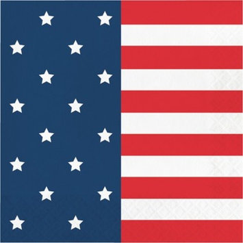 20ct Flag Print Snack Paper Napkin