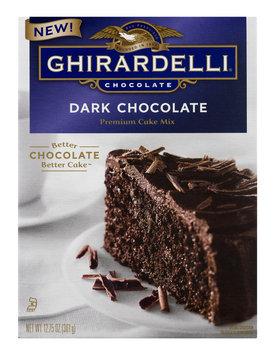Ghirardelli Premium Cake Mix Dark Chocolate