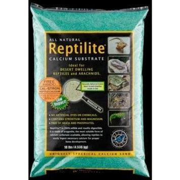 Carib Sea SCS10730 4-Pack Reptiles Calcium Substrate Sand, 10-Pound, Rainforest Green