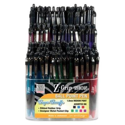 Zebra 26050 Z-Grip Neon Retractable Ballpoint Pen