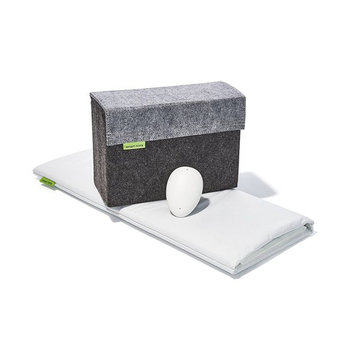 Smart Nora , Contact-free Effective Snore Solution, Stop Snoring, Works with any pillow.