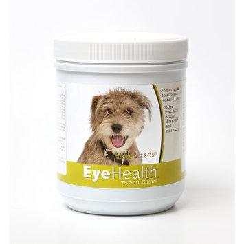 Healthy Breeds 840235144823 Mutt Eye Health Soft Chews - 75 Count