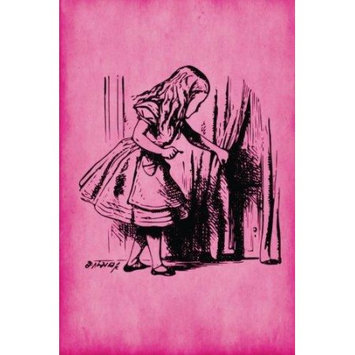 Createspace Publishing Alice in Wonderland Journal - Alice and The Secret Door (Pink): 100 page 6