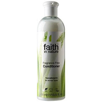 Faith In Nature Fragrance Free Conditioner For All Hair Types 400ml