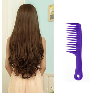 Baomabao Wet Haircut Hair Comb Hairdressing Plastic Handle Wide-tooth Comb