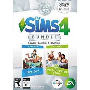 Electronic Arts The Sims 4 Bundle: Spa Day and Perfect Patio Stuff - PC Game