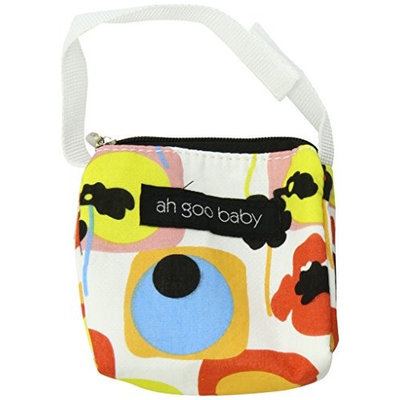 Ah Goo Baby Pacifier Holder and Tote, Poppy Pattern PT-POPPY-12