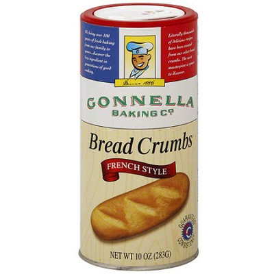 Gonnella French Style Bread Crumbs, 10 oz (Pack of 12)