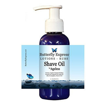 LeAgeless Shave Oil 4oz - by Butterfly Express