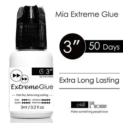 5ml Mia Extreme Glue Adhesive Fast Strong Eyelash Extension Semi Permanent Low Fume