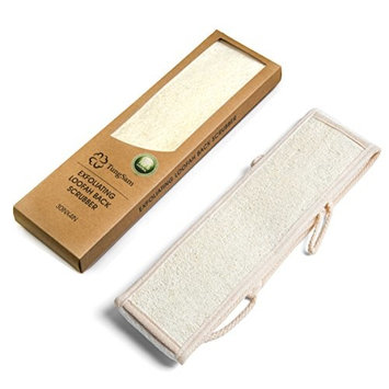 TungSam Bath Dry Body Brush & Body Sponges Natural Back Scrubber for Men&Women (1 Piece Back Scrubber)