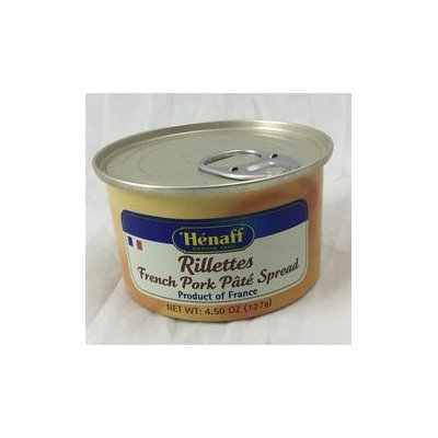 Henaff French Pork Rillettes - Traditional Recipe, 127 grams (Pack of 2)