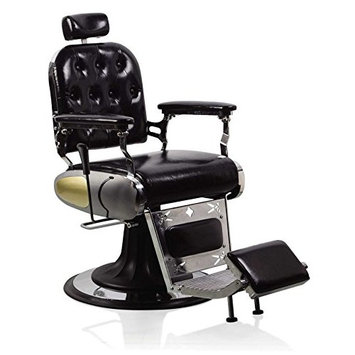 Beauty Style New Styling Professional Reclining Hair Barber Chair Black