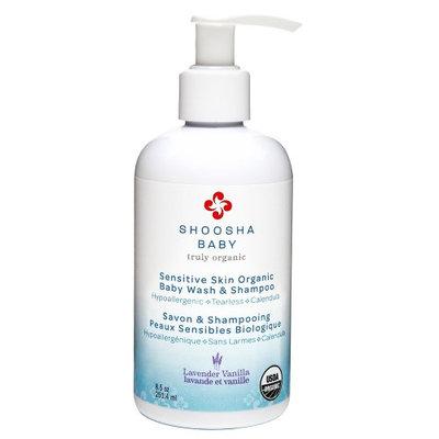 Shoosha - Sensitive Skin Organic Babywash & Shampoo Lavender Vanilla - 8.5 oz.(pack of 6)