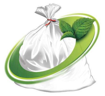 MINT-X MX4046XHC Trash Bag,44 gal, LLDPE, Clear, PK100