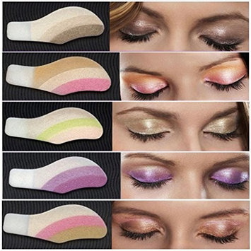 Creazy 6 Pair Instant Eye Shadow Temporary Makeup Eye Tattoo Stickers