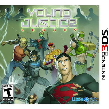 Little Orbit Young Justice Legacy (Nintendo 3DS) - Pre-Owned