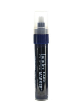 Liquitex Professional Paint Markers Prussian blue hue, wide 15mm [pack of 2]