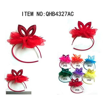 Crispy Collection 12 Pieces Cat Ear Multi Design Headbands Selection Perfect Gift For Loved One