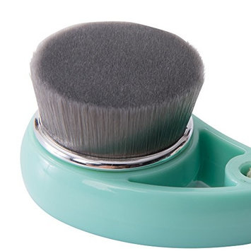 Tru Beauty Charcoal Carbon Pore Cleansing Brush, Soft Bristles, Deep Facial Cleanse, Gentle Exfoliation Skin Care Tool - Mint