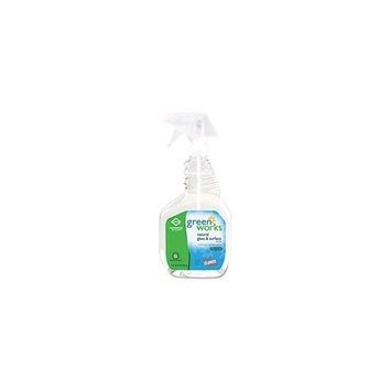 Glass/Surface Cleaner, 32 oz Spray Bottle, 12/Carton by CLOROX SALES CO. (Catalog Category: Office Maintenance, Janitorial & Lunchroom / Cleaning Supplies / Glass)