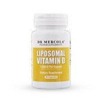 Dr. Mercola Liposomal Vitamin D 1000 IU Supplement - 30 Capsules- Essential for Heart Health and Joint Health – Natural Licap Vitamin D3 Capsules