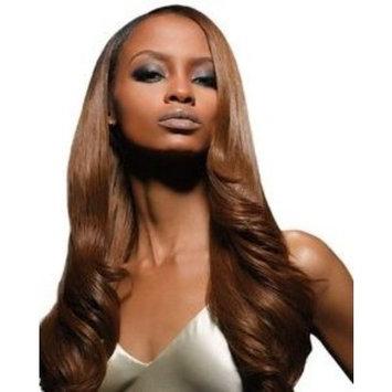 Velvet Remi Human Hair Weave - Yaki Weaving (14 inch, 2 - Dark Brown)