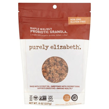 Purely Elizabeth Maple Walnut Probiotic Granola, 8 oz, 6 pack