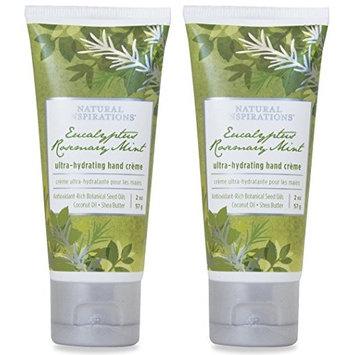 Natural Inspirations Ultra Hydrating Hand Creme 2 Piece Gift Set - Eucalyptus Rosemary Mint [Eucalyptus Rosemary Mint]
